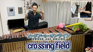 【マリンバ】crossing field / LiSA【ソードアート・オンラインOP】