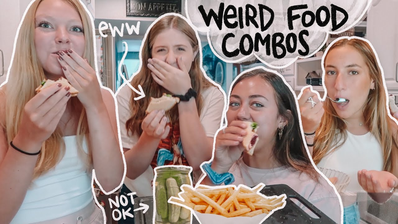 Trying My Subscribers WEIRD FOOD COMBOS *gross*