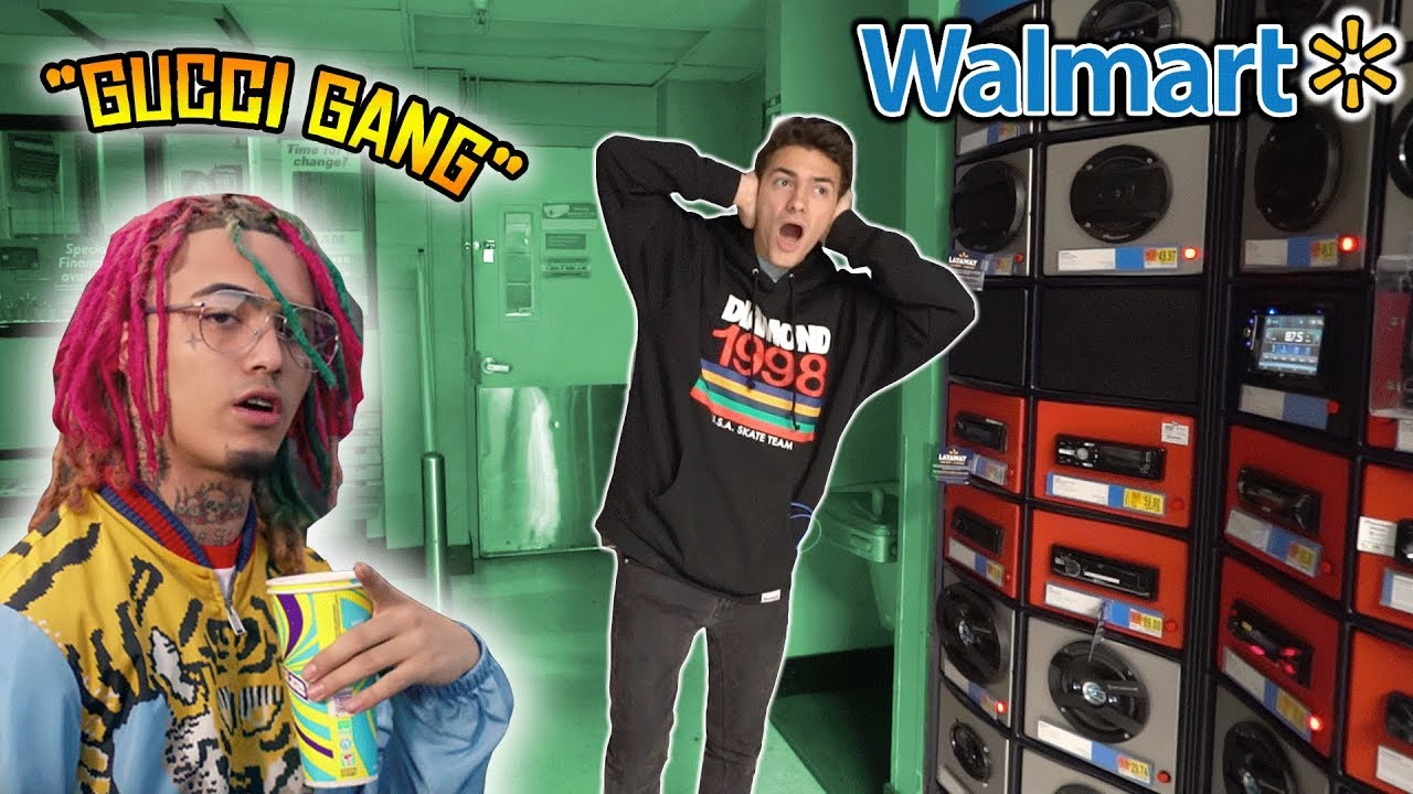 lil-pump-gucci-gang-speaker-prank-in-walmart-cops-come