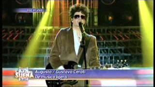 Augusto Schuster es Gustavo Cerati en Tu Cara me suena