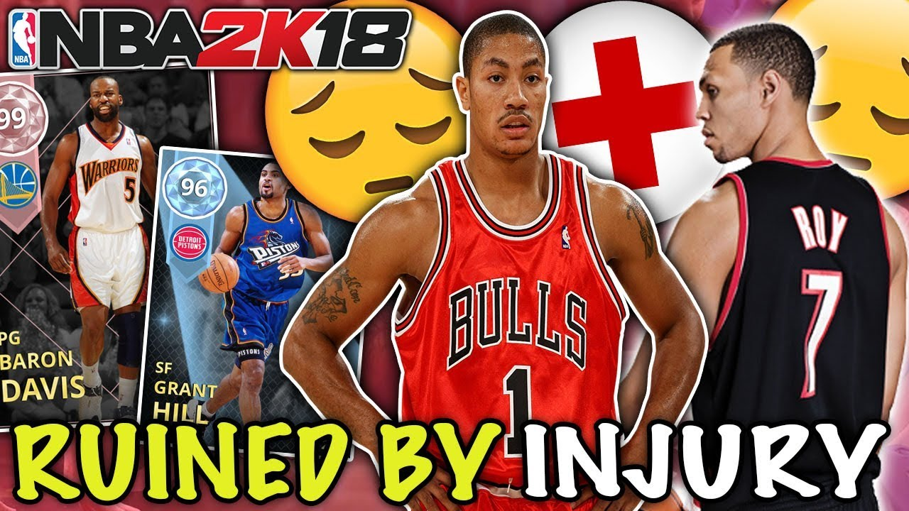 CAREERS RUINED   CUT SHORT BY INJURY! NBA 2K18 MYTEAM - YouTube c5d04e130