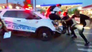 5 Hurt After SUV Under Siege Drove Through Protesters