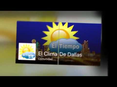El clima de dallas texas ahora en youtube youtube - Temperatura en mataro ahora ...