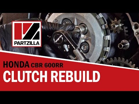 How To Rebuild The Clutch On A Honda Cbr 600 Rr Partzilla. How To Rebuild The Clutch On A Honda Cbr 600 Rr Partzilla. Honda. Honda Cbr 600 Engine Diagram At Scoala.co