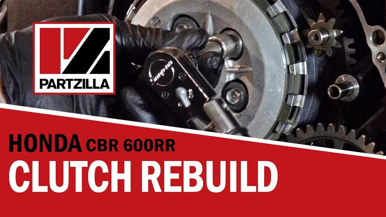 hight resolution of how to rebuild the clutch on a honda cbr 600 rr partzilla com
