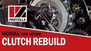 How to Rebuild the Clutch on a Honda CBR 600 RR   Partzilla.com