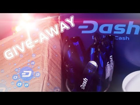 Dash Embassy Package & Give-Away (Crypto Shirt / Stickers / Merch)