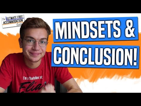 Mindsets on Finding Free Place to Stay & Conclusion