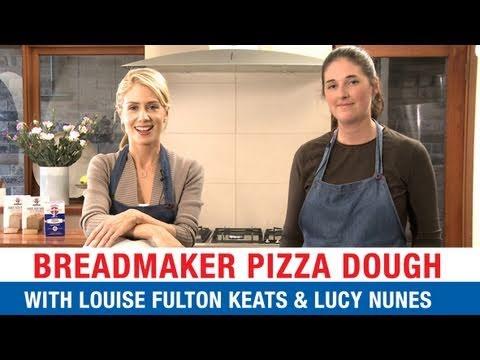 Breadmaker Pizza Dough