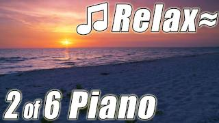 RELAXING PIANO #2 Music Slow Romantic Love Songs Instrumental Musica Best Ocean HD Videos 1080p