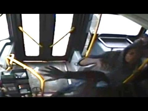 Teen Sucker Punches Bus Driver, Bus Driver Fights Back And Gets Fired