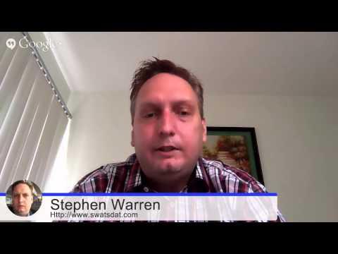 John Shea Interviews Stephen Warren