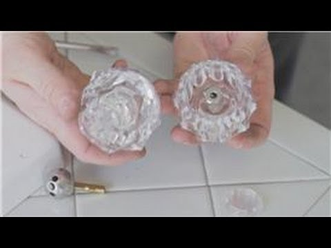 Bathroom Faucet Knob Repair faucet repair : how to fix broken ball handle on a bathtub faucet