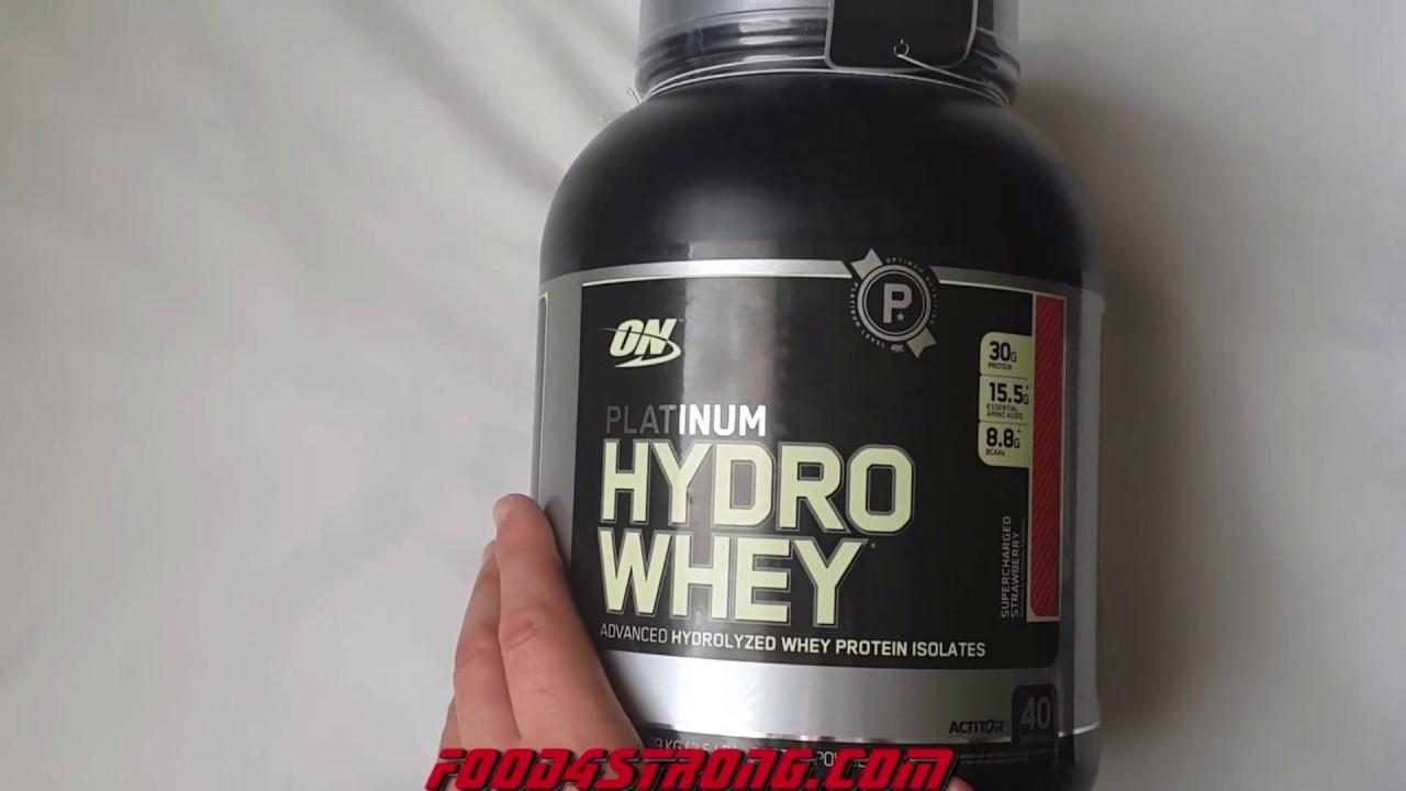 Как пить on platinum hydro whey
