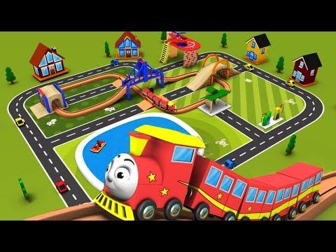 Trains for kids - Chu Chu Train - Toy Factory - Choo Choo Train - Trains - toy factory train - Toy