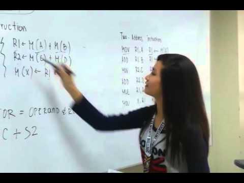 Instruction Set: Machine Instruction Characteristic