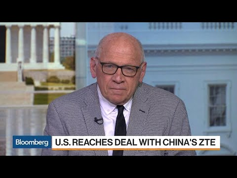 U.S. Deal With ZTE Meets With Congressional Criticism