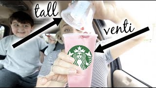 I POURED a TALL *PINK DRINK* into a EMPTY VENTI CUP and... STARBUCKS RIP-OFF or HACK!?!