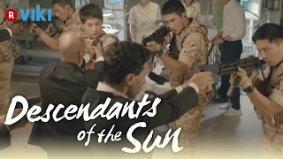Descendants of the Sun EP4 Gun Standoff Eng Sub