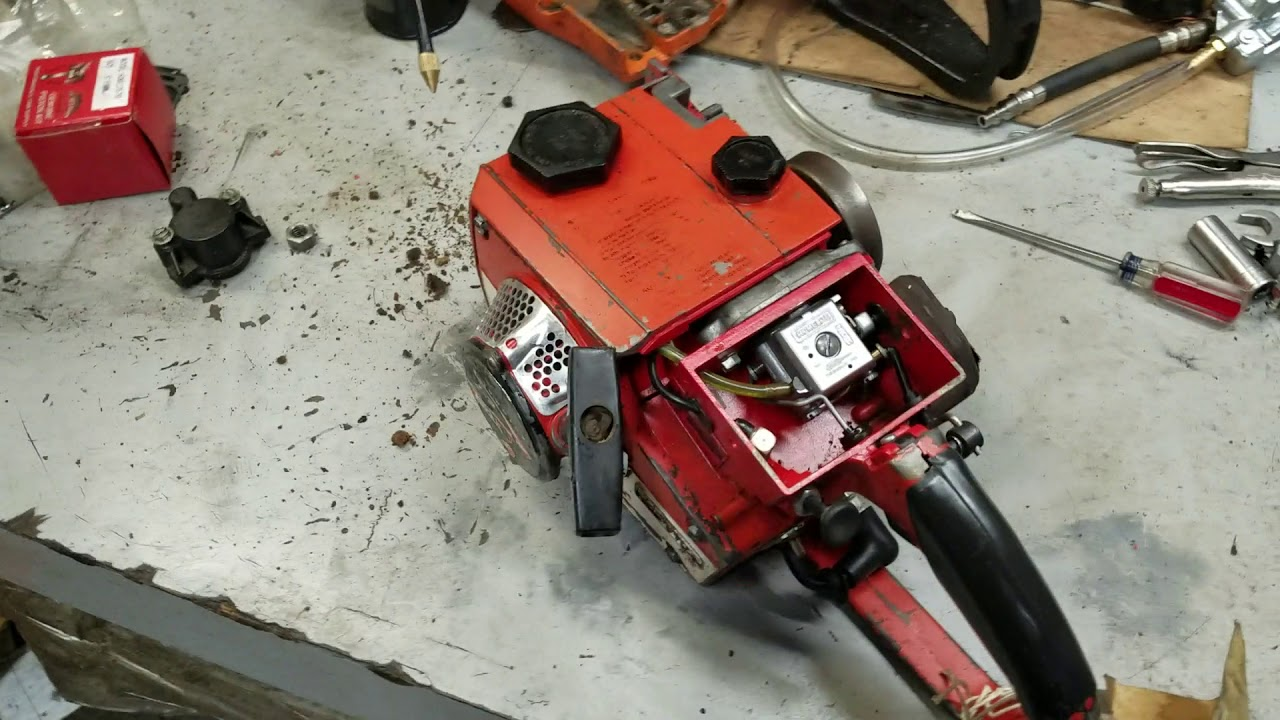 C126 Homelite 330 Chainsaw by Leon's Chainsaw Parts & Repair