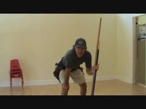 How to clean a hardwood laminate floor