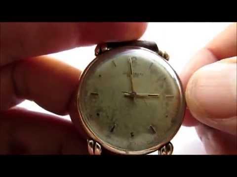 Universal Geneve Vintage Wrist Watch 1960s