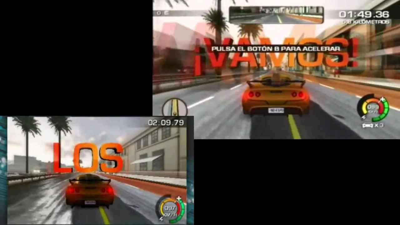 need for speed the run 3ds vs wii youtube. Black Bedroom Furniture Sets. Home Design Ideas