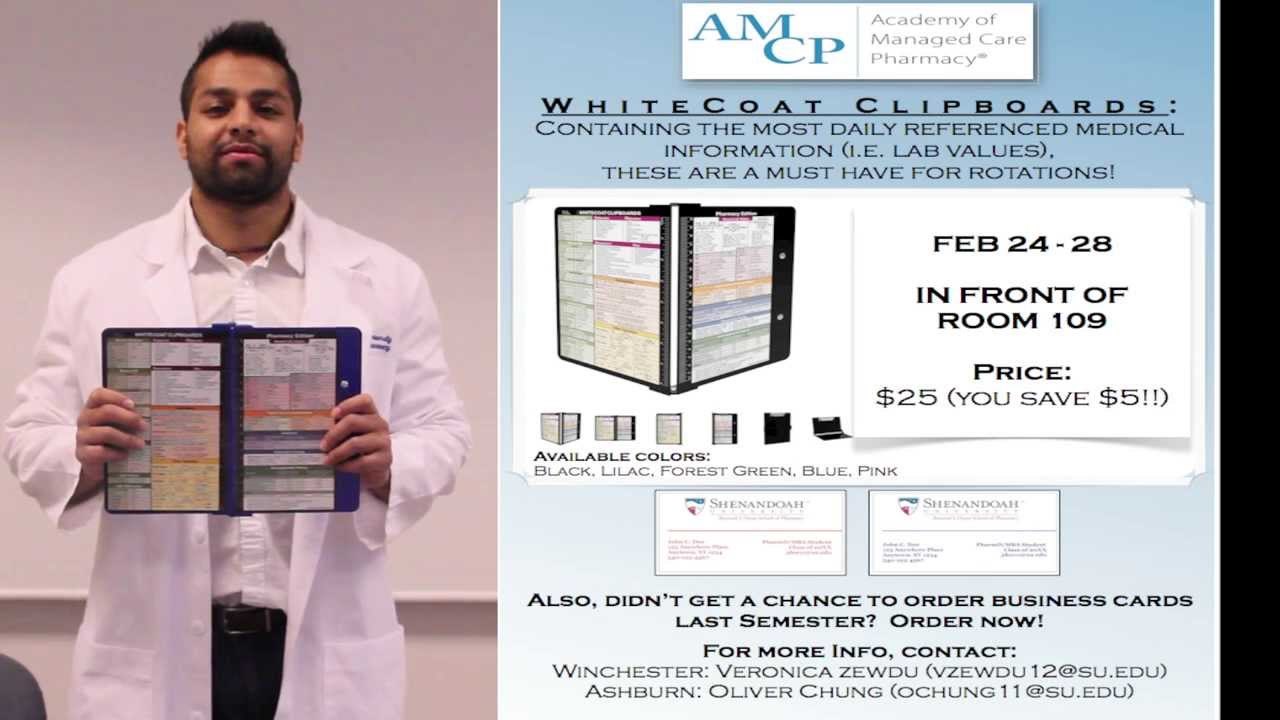White Coat Clipboard - YouTube