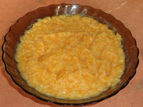 Как варить тыквенную кашу с рисом в мультиварке