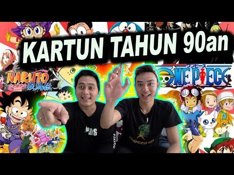 TEBAK LAGU KARTUN DAN FILM TAHUN 90an #BackTo90s