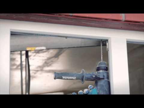 видео: Видеоролик по установке окна deceuninck