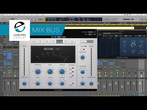 Mastering 2 Bus Compression With Logic Pro's Compressor To Improve Your Mixes