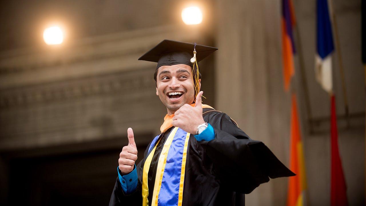 Regalia 101 for masters degree candidates - YouTube