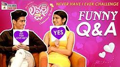 Priya Prakash Reveals Her Crush on Hero Roshan Abdul   Priya Prakash Varrier and Roshan FUNNY Q & A