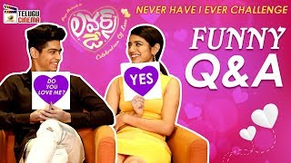 Priya Prakash Reveals Her Crush on Hero Roshan Abdul | Priya Prakash Varrier and Roshan FUNNY Q & A