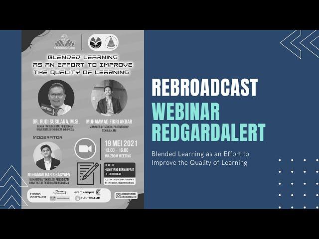 Rebroadcast Webinar REDGARD ALERT 2