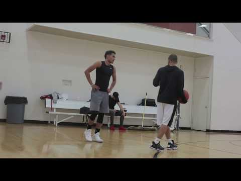 """""""The Process"""" w/ Tim Martin: Change of Direction, Read & React Drills ft. Trae Young"""