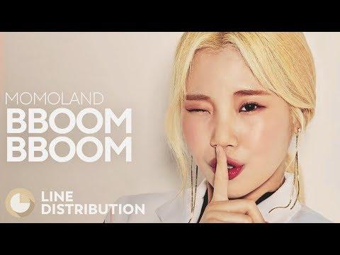 MOMOLAND - BBoom BBoom (Line Distribution)