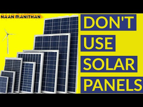 PLEASE don't use Solar panels | Drawbacks of wind energy or windmills