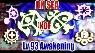 Dragon nest SEA - Lv 93 Sniper, Tempest , Elestra, Smasher, Physician, Gear Master, Majesty PvP KOF
