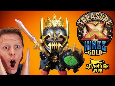 "Treasure X Kings Gold ""Hunters"" Season 3 Unboxing Adventure Fun Toy Review By Dad!"