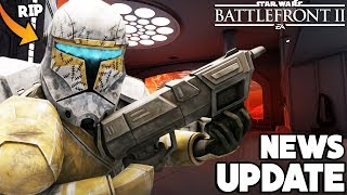 NEWS UPDATE! Bad News for Clone Commandos, TWO New Game Modes Coming & More! Star Wars Battlefront 2
