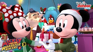 The Best Christmas Ever Music Video 🎄 | Mickey and the Roadster Racers | Disney Junior