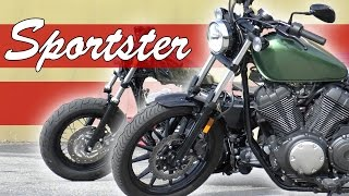 Yamaha Bolt VS Harley 1200 Sportster 48 Edition - Review/Dyno