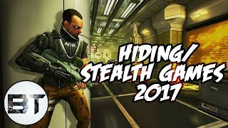 Top 10 Stealth/Hiding Games for android/Ios of 2017 NEW(Strategy, Attacking High graphic collection)