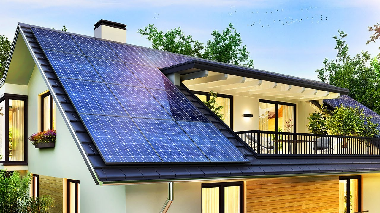 Solar Power System For Home: Ultimate Beginners Guide - YouTube