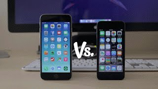 iPhone 6 vs iPod Touch 6th Generation - Detailed Comparison, Camera and Speed Test.
