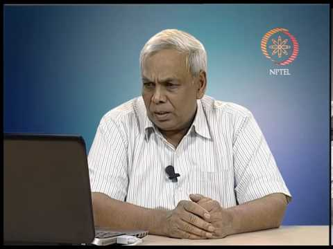Mod-02 Lec-01 Coal and coal as chemicals feed stock
