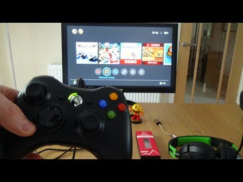 How to use a Xbox 360 Controller on the Nintendo Switch