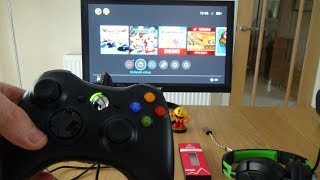 Hi, this video shows a wired xbox 360 controller working on the nintendo switch. adapter you need to allow work is mayflash magic-ns. n...